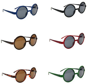 Classic Stylish Retro Round Frame Fashion Sunglasses Choice of 6 Colours 8360S