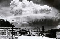 WW2 Picture Atomic cloud over Nagasaki  August 9 1945 #692