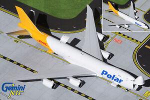 Gemini Jets Polar Air Cargo 747-8F Interactive Series 1:400