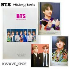 BTS - HISTORY BOOK [WELCOME, FIRST TIME WITH BTS] SELECT ENGLISH /KOREAN VER.