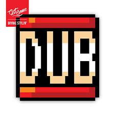 Etiqueta engomada de 8 bits Dub
