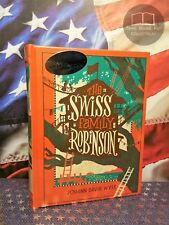 NEW SEALED The Swiss Family Robinson by Johann David Wyss Bonded Leather
