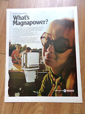 1970 Chrysler Boat Ad  What's Magnapower?