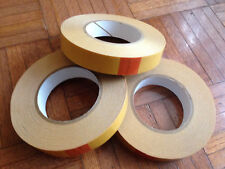 Lot of 3 ( Three ) DC-4420 Double Sided D.C. PVC Tape 1 Inch x 36 Yards