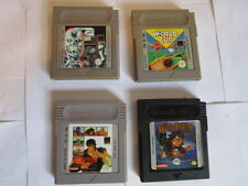 4 Nintendo Game Boy Spiele. H.Potter.T2 Terminat. World Cup. Fist o t North Star