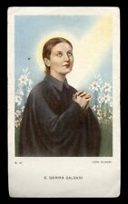 "santino-holy card""S.GEMMA GALGANI 13"