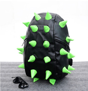 Unisex Hedgehog Spike Bag Backpack Spiky Punk Cosplay Shoulder Bag School Bags