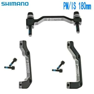 Shimano Disc Brake Caliper Front Rear Post Mount Adapter PM / IS 180mm