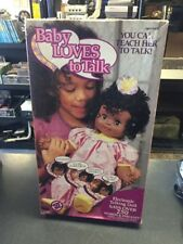 Vintage Toy Biz African American Baby Loves to Talk Doll New NOS SEALED