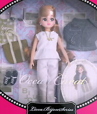 "Takara Licca Chan Bijou Series 9"" Japanese Fashion Doll Blythe Ocean Carat"