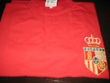 SPAIN SHORT SLEEVE RETRO FOOTBALL SHIRT   XL  NEW WITH TAGS/PACKET