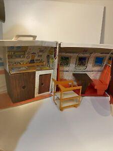 Vintage Barbie Friend Ship United Airline Airplane Plane 8639 Play Set 1972