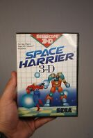 Sega Master System Space Harrier 3-D Game Complete CIB Authentic