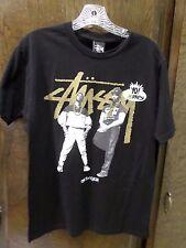 stussy eric b & rakim T shirt MTV RAPS size small // rare // out of print