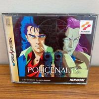 POLICENAUTS Konami [ T-9510G ] Sega Saturn Japan