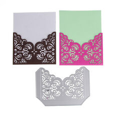 Envelope Hollow Metal Cutting Dies Stencil DIY Scrapbook Photo Emboss Paper Card