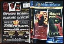 MASQUE OF THE RED DEATH 1964) / PREMATURE BURIAL (1962) MGM Midnight Movies OOP