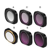 DJI OSMO POCKET Lens Filter MCUV/CPL/ND4//ND8/ND16/ND32/ND64 Camera Lens Filters
