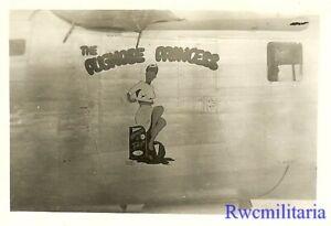 """Org. Nose Art Photo: B-24 Bomber """"THE PUGNOSE PRINCESS""""!!!"""