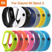 For XIAOMI MI Band 3 Original Silicon Wrist Strap WristBand Bracelet Replacement