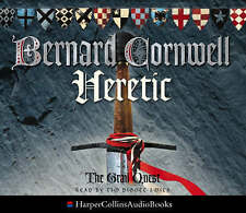 Heretic by Bernard Cornwell (CD-Audio, 2003)new and sealed