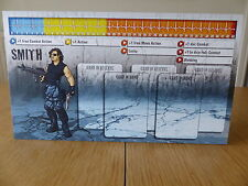 Zombicide - Smith - Character Dashboard Card (Card only)