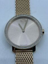 Movado BOLD Women's Rose Gold Tone Stainless Steel Watch 3600657