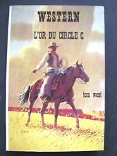 Western N°165 Collection Le Masque / L'or Du Circle C / Tom West