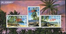 Mayotte 1999 Pirogues/Palm Trees/Canoes/Boats/Transport/Palms 3v m/s (n38211o)