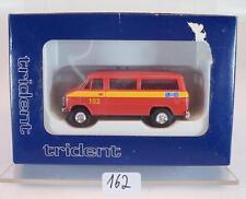 Trident 1/87 No. 90210 Chevrolet Van Feuerwehr Stockholm Schweden OVP #162