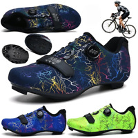 Road Cycling Shoes Men Self-Locking SPD Shoes Outdoor Mountain Bike MTB Sneakers