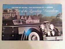 "Danbury MINT 1940 DUESENBERG  Town Car  ""FLYER"""