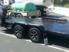 Car Trailer --Manual --TILT BED 4.8 METERS X 2 METERS