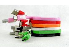 Câble plat Micro USB / USB - 1 mètre - pour smartphone Samsung / Nokia, ..