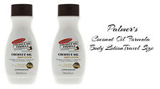 New 2 Pack Palmer's Coconut Oil & Vitamin E Body Lotion Travel Size 1.7 fl oz e