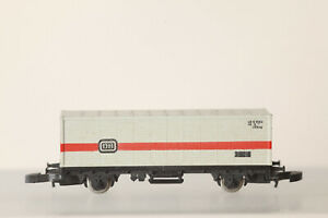 Märklin Mini Club Z Gauge 8615 Container Flat Car DB Without Boxed (176265)