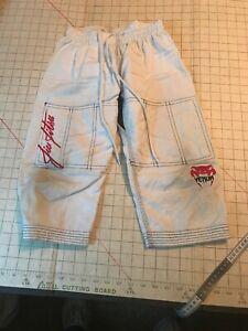 Venum COO Cotton Kids Pants White uniform martial arts Jiu Jitsu