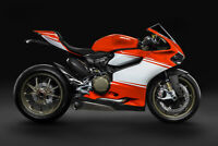 2014 DUCATI 1199 SUPERLEGGERA MOTORCYCLE POSTER Art Fabric HD PRINT Wall Decor