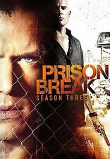 Prison Break ~ Complete 3rd Third Season 3 Three ~ BRAND NEW 4-DISC DVD SET