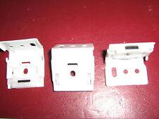 Roman Blind Hidden fixing brackets x3, Side Chain Control Roman Fits Hillarys H