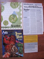 SPI Ares No 4 Arena of Death 1980 Sci Fi Fantasy Simulation Game Unpunched NICE