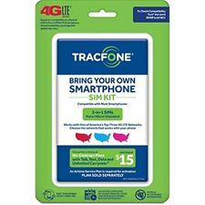 TracFone Bring Your Own Phone Sim Kit 4g Lte Coverage