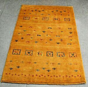 New handmade nomadic woolen rugs . Size: 3.21 x 5.05 ft - 154 x 98  cm