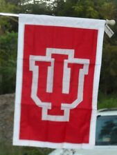 UNIVERSITY of INDIANA House Flag, Embroidered by Evergreen