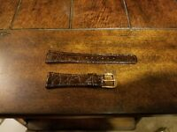 Seiko 20mm Aligator Watch Band