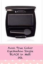 Avon True Color Eyeshadow Single BLACK In Matt