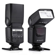 Speedlite Flash For Canon Sony Nikon Fujifilm Olympus Pentax Samsung DSLR Camera
