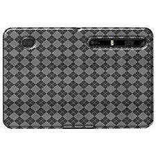 AMZER Luxe Argyle High Gloss TPU Soft Gel Skin Case for Motorola XOOM - Clear