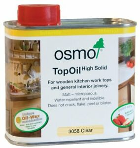 Osmo Top Oil 500ml 3058 Clear Matt