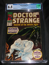 Doctor Strange #170 (1968) CGC 6.5 1st app Satannish; 2nd Doctor Strange solo is